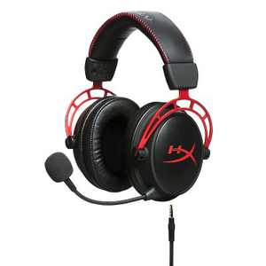 HyperX Cloud Alpha Pro Wired Gaming Headset for PC/PlayStation 4/5/Xbox One/Series X S/Nintendo Switch