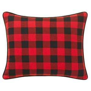 Winter Lab Breakfast Throw Pillow Charcoal - Eddie Bauer
