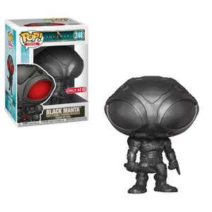Funko POP! Heroes: Aquaman - Black Manta (Metallic Exclusive)