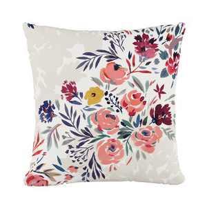 Multi Floral Throw Pillow - Skyline Furniture
