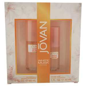 Jovan Jovan White Musk 2Oz Cologne Spray, 1Oz Cologne Spray 2 Pc Gift Set