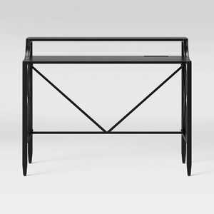 Fairmont Metal Writing Desk with Hutch - Threshold™