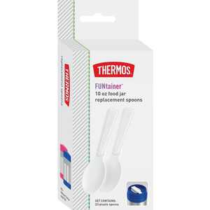 Thermos FUNtainer 2pc Food Jar Replacement Spoon - White
