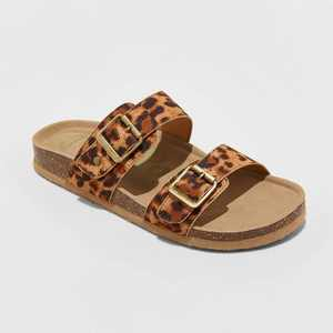 Women's Keava Double Band Footbed Sandals - Mad Love Brown