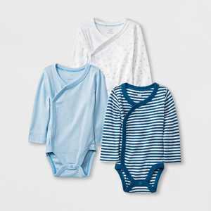 Baby Boys' 3pk Side Snap Bodysuits - Cloud Island™