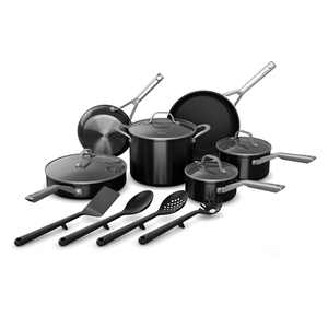 Ninja Foodi NeverStick 14-Piece Cookware Set, guaranteed to never stick, C19700