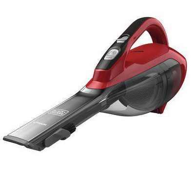 BLACK+DECKER Dustbuster Lithium Cordless Handheld Vacuum - Chili Red HLVA320J26