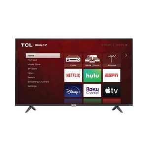 "TCL 50"" Class 4-Series 4K UHD HDR Smart Roku TV – 50S435"