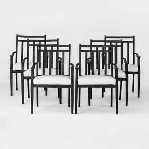 Fairmont 6pk Steel Patio Dining Chairs - Threshold™