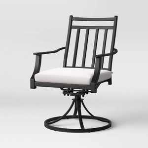 Fairmont 2pk Metal Patio Swivel Rocking Dining Chair - Threshold™