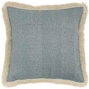 "18""x18"" Stonewash Square Throw Pillow Blue - Mina Victory"