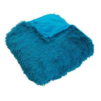 """50""""x60"""" Chubby Faux Throw Blanket - Décor Therapy"""