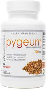 VH Nutrition Pygeum Prostate Support Supplement 700mg - Improve Urinary Health, Promotes Blood Flow & Anti Inflammation - 60 Capsules