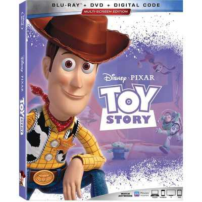 Toy Story 1 (Blu-ray + DVD + Digital)