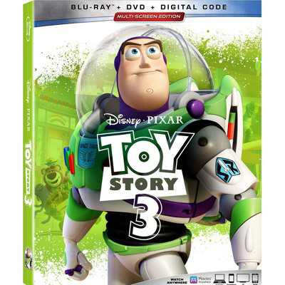 Toy Story 3 (Blu-ray + DVD + Digital)