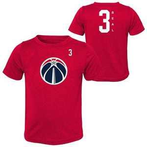 NBA Washington Wizards Boys' Bradley Beal Performance T-Shirt - L