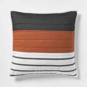 Euro Woven Yarn Dye Stripe Sham Cream - Project 62™ + Nate Berkus™