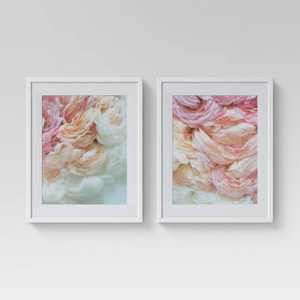 "(Set of 2) 16"" x 20"" Floral Photography Framed Print - Opalhouse™"