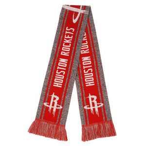 NBA Houston Rockets Gray Big Logo Scarf