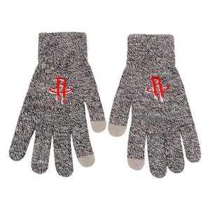 NBA Houston Rockets Gray Knit Gloves