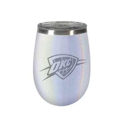 NBA Oklahoma City Thunder Opal Wine Tumbler - 12oz