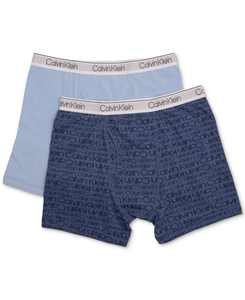 2-Pk. Cotton Boxer Briefs, Little & Big Boys
