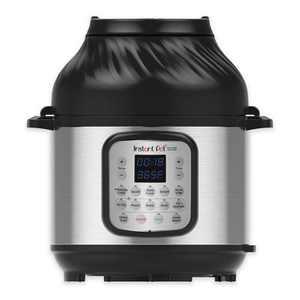 Instant Pot 8 qt 11-in-1 Air Fryer Duo Crisp + Electric Pressure Cooker