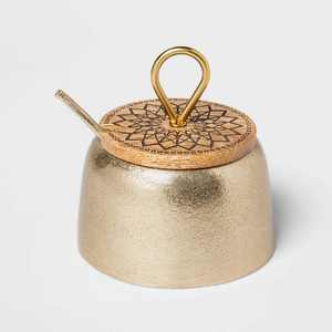 Cravings by Chrissy Teigen 7oz Salt Cellar with Wood Lid