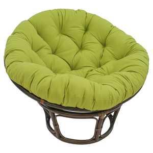 Blazing Needles Twill Solid Papasan Cushion