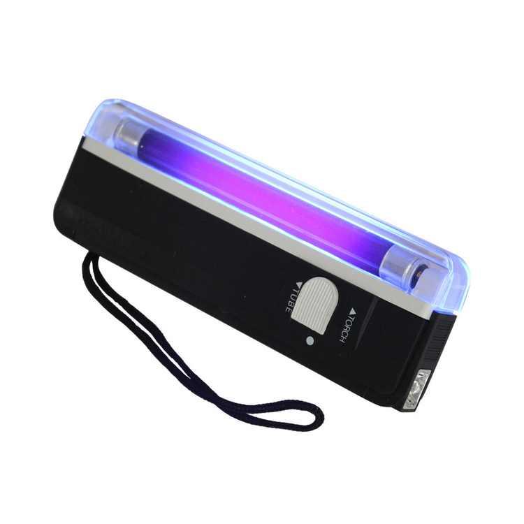 Inverlee Handheld UV Black Light Torch Portable Blacklight with LED