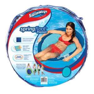SwimWays Spring Float Papasan - Mesh Float for Pool or Lake (Style May Vary)
