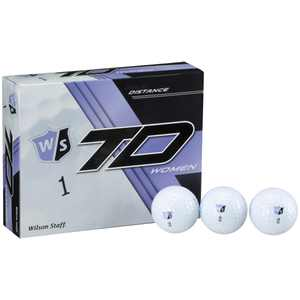 Wilson Staff True Distance Women's Golf Balls, 12 Pack
