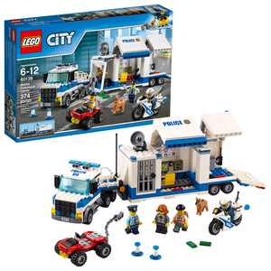 LEGO City Police Mobile Command Center 60139 (374 Pieces)