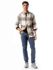 Jordache Vintage Men's Brad Athletic Slim Jeans