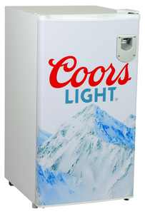 Coors Light Compact Fridge with Bottle Opener, 3.2 cu. ft (90 L)