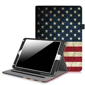 Fintie Multi-Angle Viewing Case Cover for iPad 9.7 6th / 5th Gen 2018 2017, iPad Air 1/2, US Flag