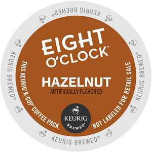 Eight O'clock Hazelnut Coffee, K-Cup Portion Pack for Keurig Brewers (24 Count) (1x16oz)