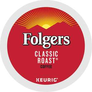Folgers Gourmet Selections Classic Roast Coffee, K-Cup Portion Pack for Keurig Brewers (24 Count)