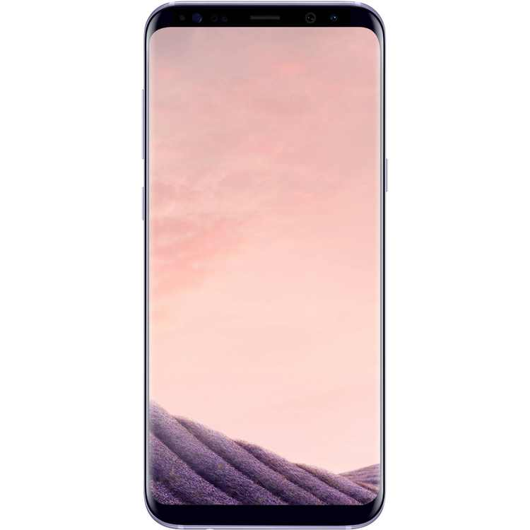 Total Wireless Samsung Galaxy S8 Plus LTE, 64GB, Orchid Gray - Prepaid Smartphone