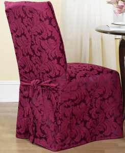 Scroll Dining Room Chair Slipcover