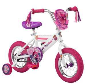 PAW Patrol Nickelodeon Paw Patrol Skye 12 In. Skye Bike, White