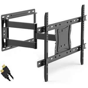 "DuraPro Full-Motion Articulating, Tilt/Swivel, Universal Wall Mount Kit for 19"" to 84"" TVs + Bonus HDMI Cable (DRP800FN)"