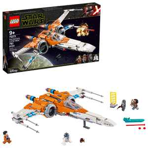 LEGO Star Wars Poe Dameron's X-wing Fighter 75273 Building Kit (761 Pieces)