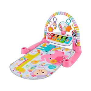 Fisher-Price Deluxe Kick 'n Play Piano Gym Pink
