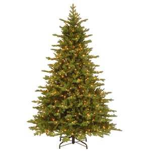 National Tree Company Clear Prelit LED Green Fir Christmas Tree, 7.5'