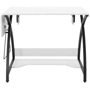 Studio Designs - Sew Ready Comet Sewing/Workstation Table - White