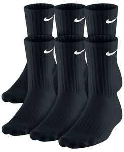 Men's Cotton Crew Socks 6-Pack