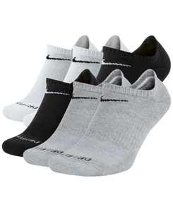 Men's Socks, Dri Fit No Show 6 Pack