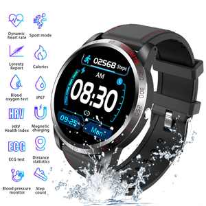 TSV Smart Watch Sport Activity Tracker, Waterproof Smartwatch for Men, with Blood Pressure Heart Rate Sleep Monitor, Step Distance, Calorie, SMS Alerts Push, Large Color-Screen, Multi-sport mode