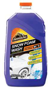 Armor All Snow Foam Car Wash, Hand-wash or Foam Sprayer (50 fl oz)